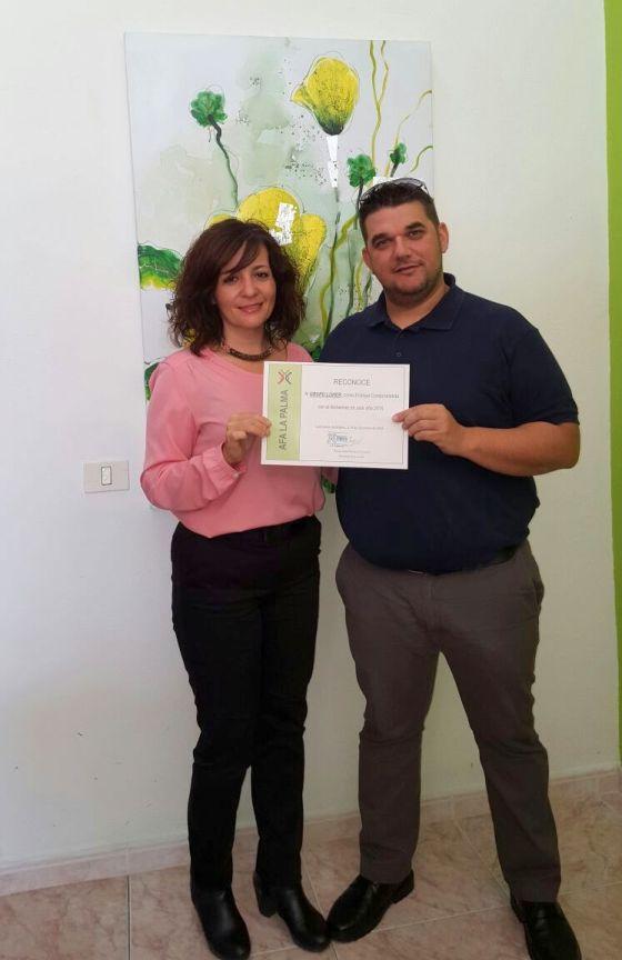 Grupo Loher: Empresa comprometida con el Alzheimer. AFA La Palma