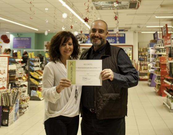 SPAR La Palma: Empresa comprometida con el Alzheimer. AFA La Palma