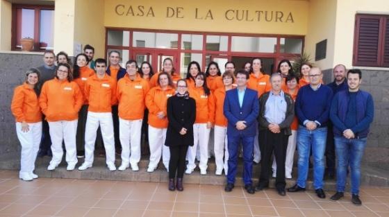 AFA LA PALMA PARTICIPARÁ EN EL PROGRAMA DE FORMACIÓN EN ATENCIÓN SOCIOSANITARIA DE PUNTALLANA