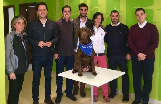 Intervencion con mascotas. Alzheimer. La Palma