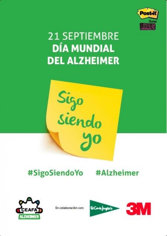 """DÍA MUNDIAL DEL ALZHEIMER 2017: """"SIGO SIENDO YO"""", TAMBIEN EN LA PALMA"""