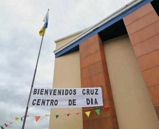 CRUZ CENTRO DE DIA LAS LEDAS. AFA LA PALMA